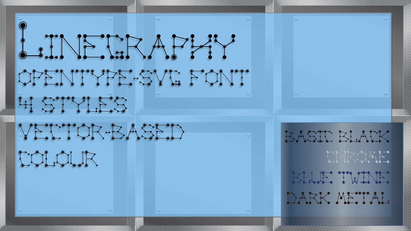 font-linegraphy