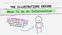 Banner - intervention and illustrated joe