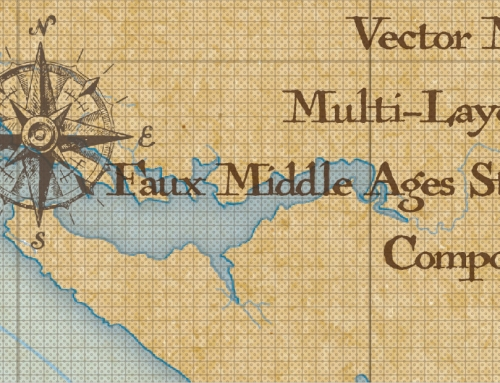 Map – Faux Middle Ages Vector Map